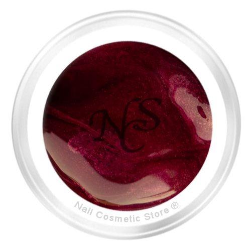 NCS Pearl Farbgel 415 Marone für elegante braun-rote farbige Fingernägel