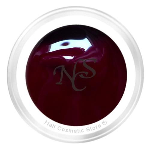 NCS Farbgel 430 Schwarzkirsche 5ml - Vollton - tief schwarz-rot