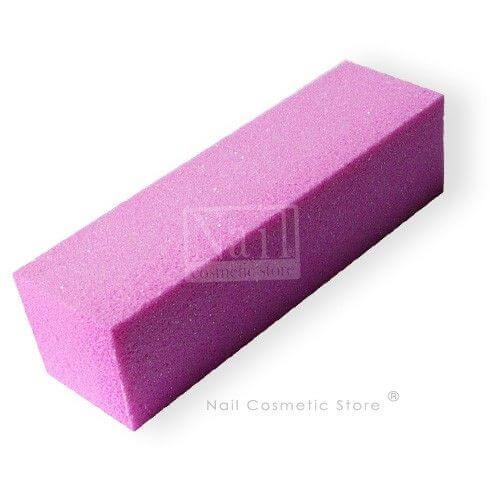 NCS Schleifblock in pink-rosé - Qualitäts Buffer für das Nageldesign