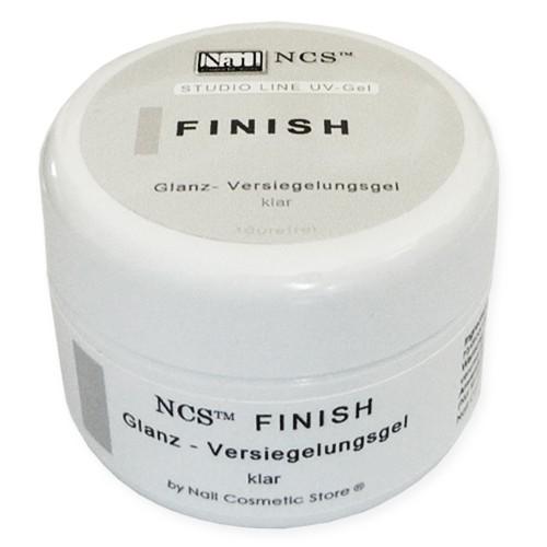 NCS Finish Gel - Glanzgel - Versiegelungsgel für Gelnägel