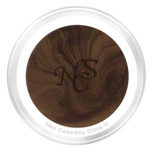 NCS Pearl Farbgel 502 Machiato für elegante braune Fingernägel