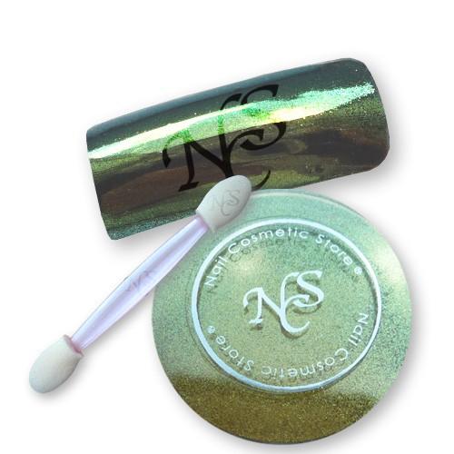 "NCS Mirror Chrome Pigment ""Grün"""