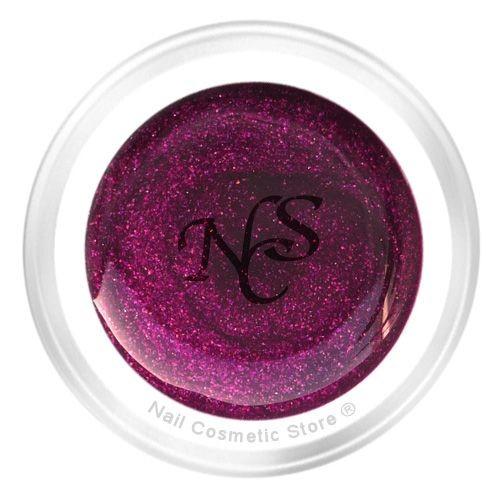 NCS Pearl Farbgel 810 Burgund für elegante rot-voilette farbige Fingernägel