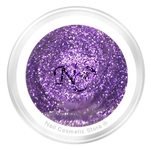 NCS Glitter Farbgel 802 Auvage