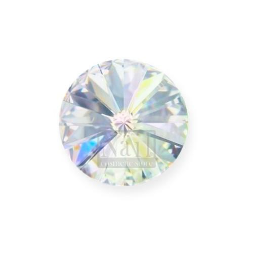 Swarovski Strassstein Rivoli Crystal AB Aurore Boreale 8mm Durchmesser