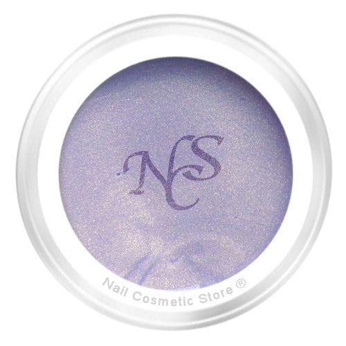 NCS Pearl Farbgel 813 Silberdiestel für elegante farbige Fingernägel im Grau Violett Bereich