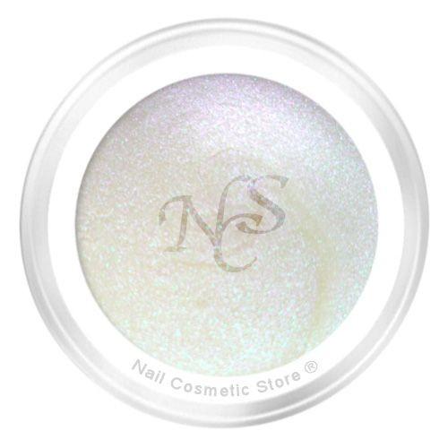 NCS Farbgel Perlmutt weiß - Pearl-Effekt für betörend schöne Fingernägel