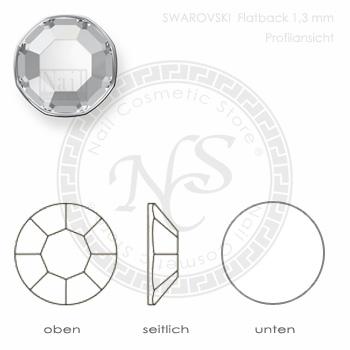 Swarovski-Flatback-SS3-1-3mm-PROFILANSICHT