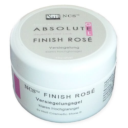 NCS ABSOLUTE Finish Gel Rosé - Glanzgel 30ml