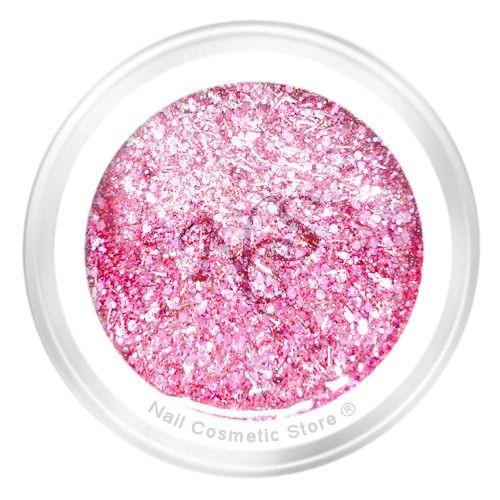 NCS Sparkle Farbgel 406 Rosa - Rosé