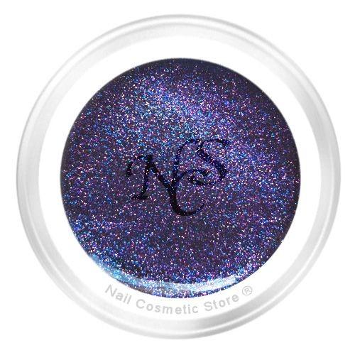 NCS Metallic Farbgel 816 Indigo für elegante farbige Fingernägel im blau Violett Bereich