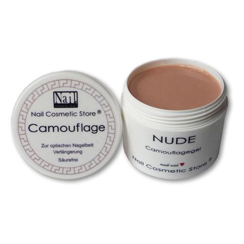 NCS Camouflage Gel NUDE - hautfarbenes Camouflage Gel