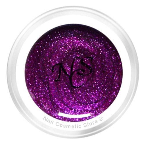 NCS Pearl Farbgel 806 Celtic für elegante farbige Fingernägel im Rot-Violett Bereich