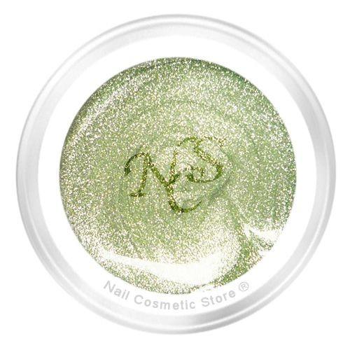NCS Metallic Farbgel 618 Pistazie - Grün Gold