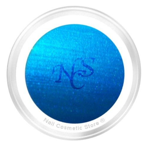 NCS Pearl Farbgel 706 Azur für modische farbige Fingernägel mit WOW Effe