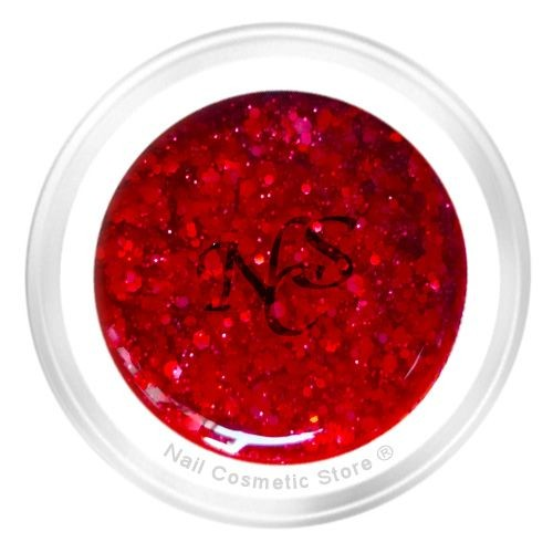 NCS Sparkle Farbgel 425 Bloody