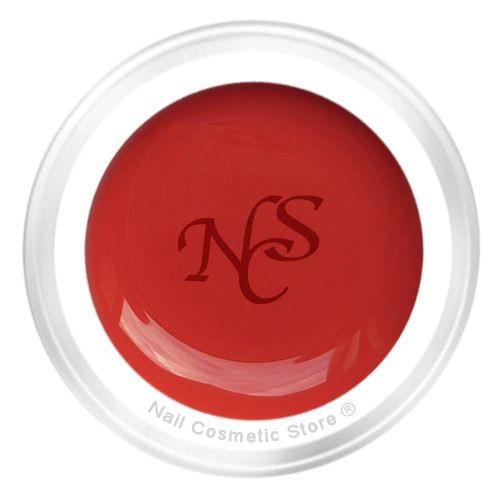 NCS Cream Farbgel 449 Indisch Rot für elegante warm rote Fingernägel