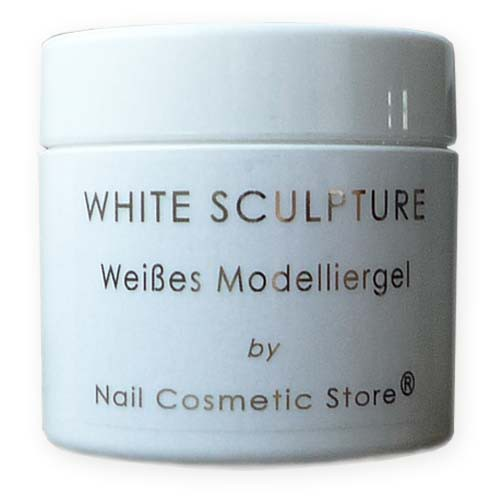 NCS ABSOLUTE White Sculpture-Gel - weißes Aufbaugel