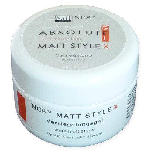 NCS Finish Gel Matt Style X - extra mattes Versiegelungsgel