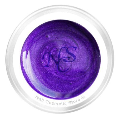 NCS Pearl Farbgel 804 Violett für modische inensiv violett farbige Fingernägel