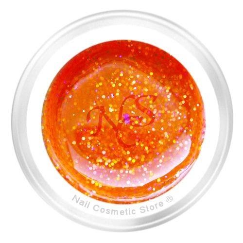 NCS Sparkle Farbgel 305 Crunsh für modische farbige Gelnägel mit WOW Effekt