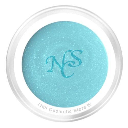 NCS Pearl Farbgel 703 Riva für modische pastell türkis farbige Fingernägel