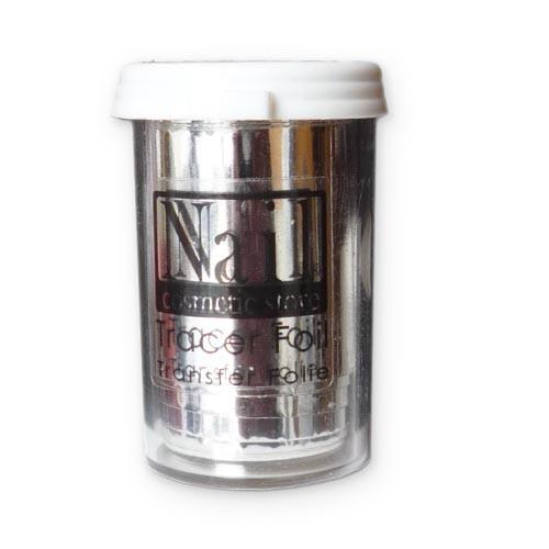 NCS™ Transfer Nagelfolie - Silver