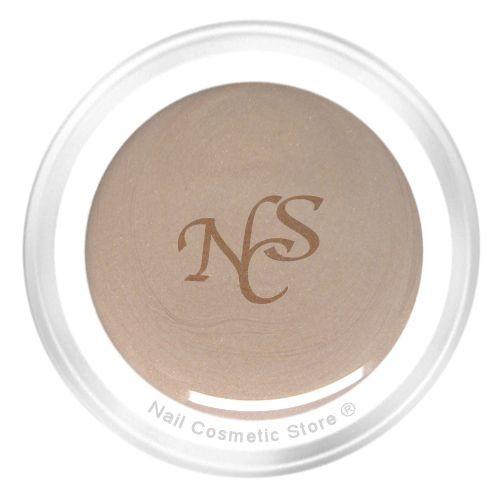 NCS Pearl Farbgel 500 Schlamm für elegante farbige Fingernägel in Nude Farbton