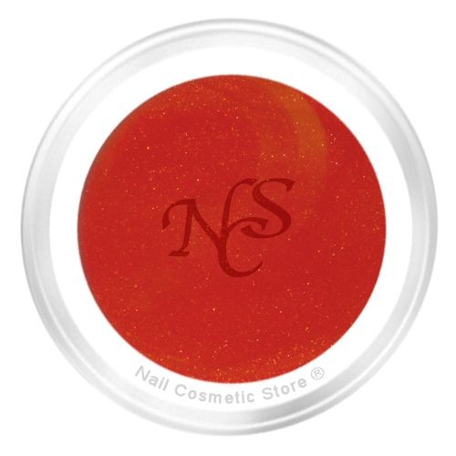 NCS Pearl Farbgel No. 303 Candy 5ml - Orange-Rot