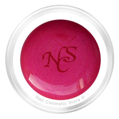 NCS Pearl Farbgel 446 Himbeere für elegante pink-rot farbene Fingernägel