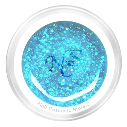 Glitter Farbgel No.713 Arktis