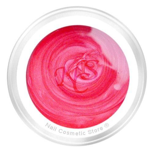 NCS Pearl Farbgel 409 Pink Rose für elegante pink-rote Farbgel Nägel