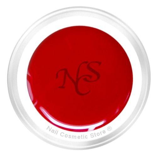 NCS Farbgel 442 Kirsche für klassisch rote Fingernägel - Cream / Vollton