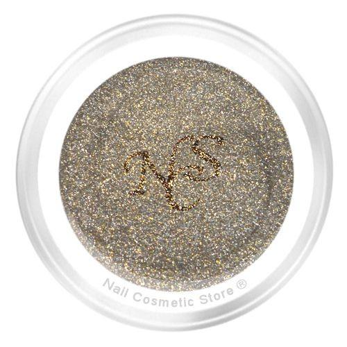 NCS Glitter Farbgel 119 Brokat für elegante farbige Gelnägel