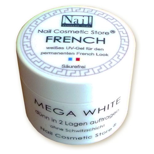 French Gel Mega-White 30ml
