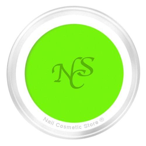 Neon Farbgel No.3 Limette - leuchtend grün