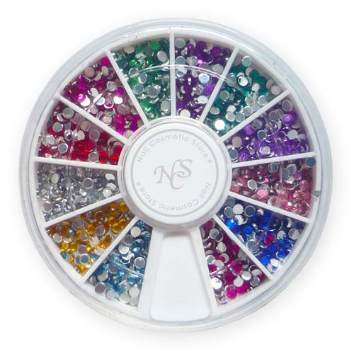 Nailart Display - runder Strass