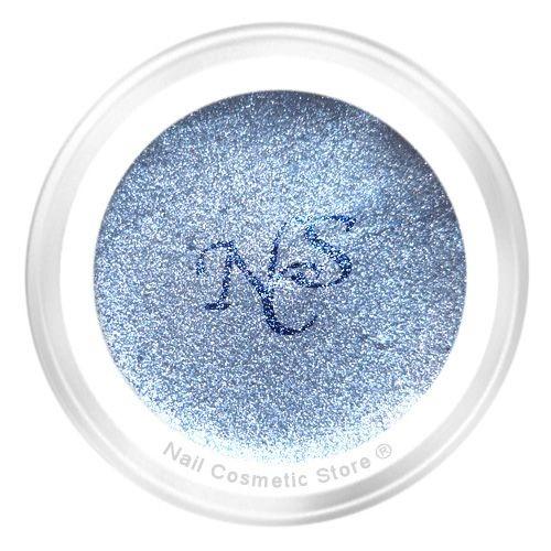 NCS Metallic Farbgel 716 Frostblau - Blau Grau