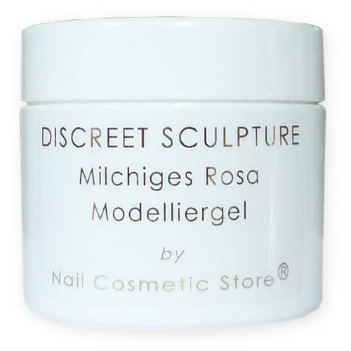 NCS ABSOLUTE Discreet Sculpture-Gel - milchiges rosé Aufbaugel