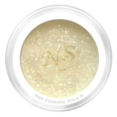 NCS Glitter Farbgel 112 Champagner für elegante farbige Gelnägel