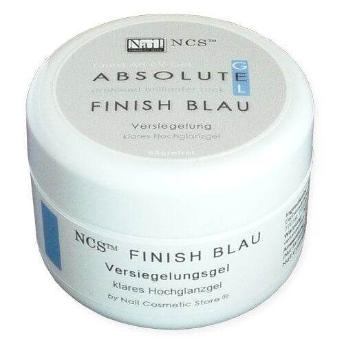 NCS ABSOLUTE Finish Gel Blau - Glanzgel 30ml