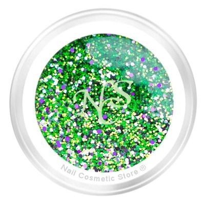 Sparkle Farbgel No.611 Green Poisen