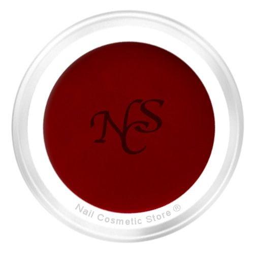 NCS Farbgel 431 Bordeaux 5ml - Vollton - dunkel-rot