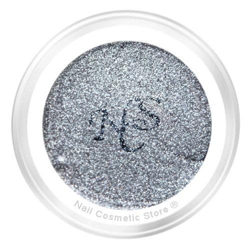 NCS Metallic Farbgel 903 Gray - Silber Grau