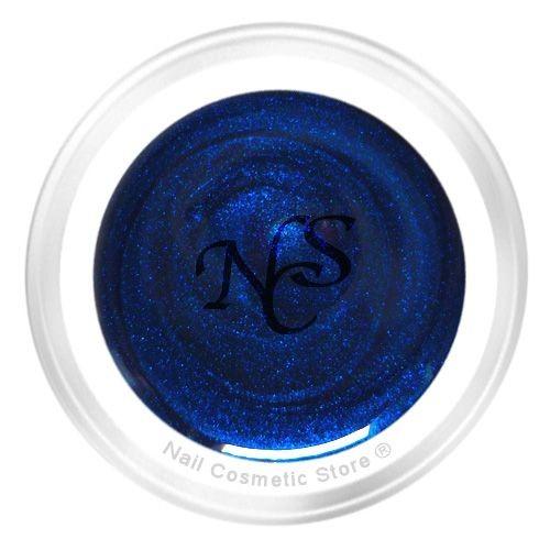 NCS Pearl Farbgel 712 Mystic Blau für elegante farbige Fingernägel