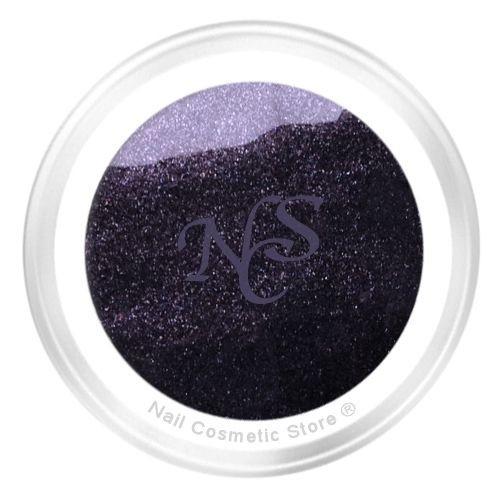 NCS Pearl Farbgel 902 Grey irisierend für elegante farbige Fingernägel im Grau Schwarz Bereich