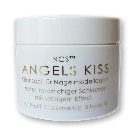 NCS Angels Kiss - Glanzgel - seidiges rosé Versiegelungsgel für Gelnägel